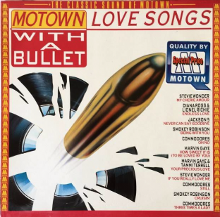 V/A - Motown Love Songs: With A Bullet (LP) (VG-EX/EX-)